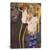 iCanvas 'The Hostile Forces Unchastity, Voluptuousness, Excess' by Gustav Klimt Painting Print on Canvas