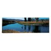iCanvas Panoramic Trout Fisherman Slough Creek Yellowstone National Park, Wyoming Photographic Print on Canvas
