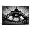 "iCanvas ""Eiffel Apocalypse"" by Sebastien Lory Photographic Print on Canvas"