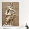 iCanvas Political Julius Caesar Statue Photographic Print on Canvas
