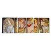 iCanvas Botticelli Sandro Les Saisons 3 Piece on Wrapped Canvas Set