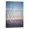 iCanvas Great Adventure by Leah Flores 3 Piece on Wrapped Canvas Set