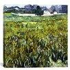 "iCanvas ""Auvers at Auvers"" Canvas Wall Art by Vincent Van Gogh"