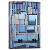 """iCanvas """"Composition No. 9, 1914"""" by Piet Mondrian Painting Print on WrappedCanvas"""