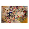"""iCanvas """"Composition VII"""" by Wassily Kandinsky Painting Print on Canvas"""