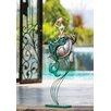 Cape Craftsmen Indoor / Outdoor Metal Mermaid And Turtle Statue