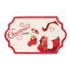 Fitz and Floyd Letters to Santa Cookie Platter
