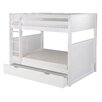 Camaflexi Traditional Camaflexi Full Bunk Bed with Twin Trundle