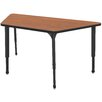 "Marco Group Inc. Apex Series 60"" x 30"" Trapezoidal Classroom Table"