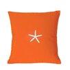 Nantucket Bound Starfish Sunbrella Throw Pillow