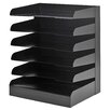 Buddy Products ClassicTM Letter Size 6 Tier Tray