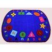 Kids World Carpets Star of Shapes Area Rug