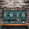 JDS Personalized Gifts Personalized Locker Room Photographic Print on Wrapped Canvas