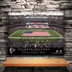 JDS Personalized Gifts Personalized Stadium Print on Canvas