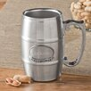 "JDS Personalized Gifts ""Groomsman"" Tankard with Pewter Medallion"