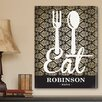 JDS Personalized Gifts Personalized Gift Bistro Sign Textual Art on Canvas
