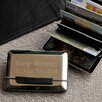 JDS Personalized Gifts Personalized Gift Expandable Executive Business Card Case