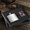 JDS Personalized Gifts Personalized Gift Lighter and Brushed Flask Gift