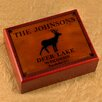 JDS Personalized Gifts Personalized Gift Cabin Series Humidor