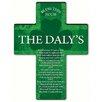 JDS Personalized Gifts Personalized Gift Irish Blessing Shamrock Cross