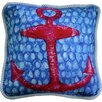 My Island Anchor Throw Pillow