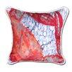 My Island Crab Indoor/Oudoor Throw Pillow
