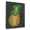 My Island Pineapple by Gerri Hyman Painting Print on Wrapped Canvas