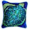 My Island Sea Turtle Indoor/Outdoor Throw Pillow