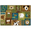 Kids Value Rugs Animal Sounds Area Rug