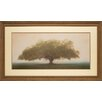 North American Art 'Oak in the Fog' by William Guion Framed Painting Print