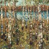 North American Art 'Birch' by Carmen Dolce Painting Print on Wrapped Canvas