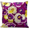 Kathy Ireland Home Gallery Happiness Cotton Throw Pillow
