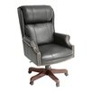 Regency Ivy League High-Back Traditional Judges Leather Executive Chair