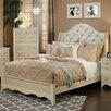 Sandberg Furniture Marilyn Upholstered Panel Bed