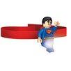 Santoki Lego DC Universe Super Hero Superman Head Lamp