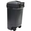 United Solutions 34 Gallon Rectangular Wheeled Trash Can