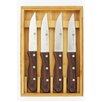 Zwilling JA Henckels Steakhouse 4-Piece Steak Knife Set with Wood Box
