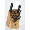 Zwilling JA Henckels Miyabi Red 600S Morimoto Edition 6 Piece Knife Block Set