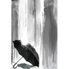 Maxwell Dickson 'Can You Stand The Rain' Graphic Art on Wrapped Canvas