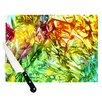 KESS InHouse Kaleidoscope Cutting Board