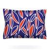 KESS InHouse Leaving Orange by Emine Ortega Cotton Pillow Sham