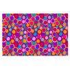 KESS InHouse My Colourful Circles Doormat