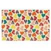 KESS InHouse Little Hearts Doormat
