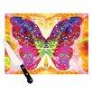 KESS InHouse Butterfly Spirit by Anne LaBrie Cutting Board