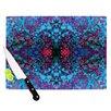 KESS InHouse Boysenberry by Nikposium Cutting Board
