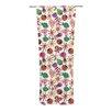 KESS InHouse Garden Floral Curtain Panels (Set of 2)