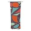 KESS InHouse Retro Swirl Curtain Panels (Set of 2)