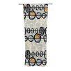 KESS InHouse Benin Curtain Panels (Set of 2)