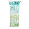 KESS InHouse Zen Pebbles Curtain Panels (Set of 2)