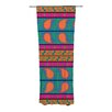 KESS InHouse Bohemian Curtain Panels (Set of 2)
